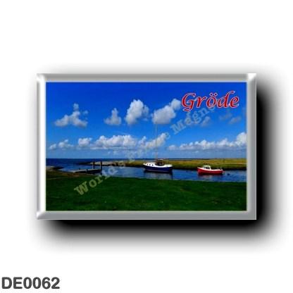 DE0062 Europe - Germany - Friesische Inseln - Frisian Islands - Gröde - Hafen