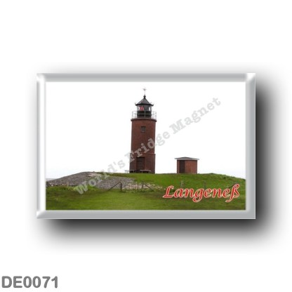 DE0071 Europe - Germany - Friesische Inseln - Frisian Islands - Langeneß - Leuchtturm