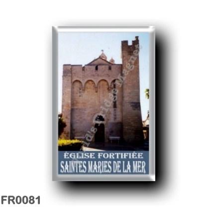 FR0081 Europe - France - French Riviera - Côte d'Azur - Saintes-Maries-de-la-Mer Église fortifiée