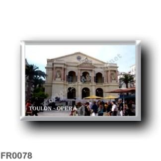 FR0078 Europe - France - French Riviera - Côte d'Azur - Toulon - Operà - Tolone