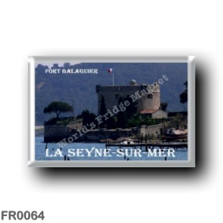 FR0064 Europe - France - French Riviera - Côte d'Azur - La Seyne-sur-Mer - Fort balaguier