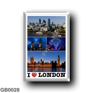 GB0028 Europe - England - London - I Love