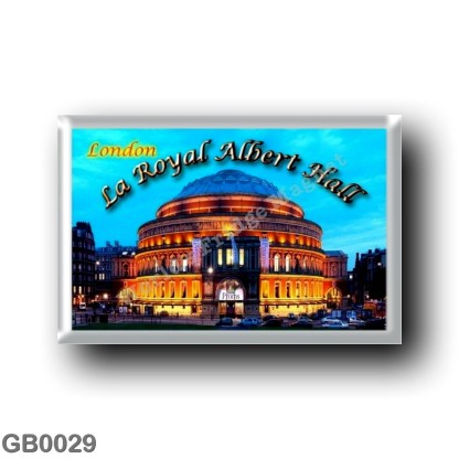 GB0029 Europe - England - London - La Royal Albert Hall