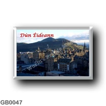 GB0047 Europe - Scotland - Dun Eideann