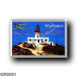 GR0051 Europe - Greece - Mykonos - The lighthouse