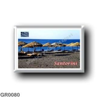 GR0080 Europe - Greece - Santorini - Thera - Thira - Lava Beach