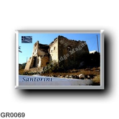 GR0069 Europe - Greece - Santorini - Thera - Thira - Castle