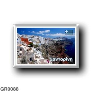 GR0088 Europe - Greece - Santorini - Thera - Thira - Panorama