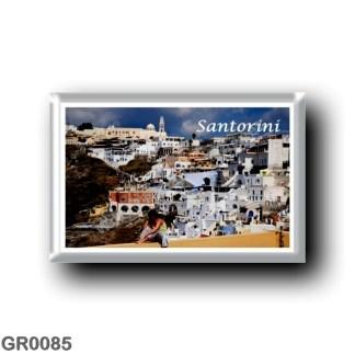 GR0085 Europe - Greece - Santorini - Thera - Thira - Panorama