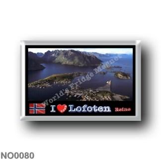 NO0080 Europe - Norway - Lofoten - Reine - I Love
