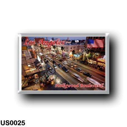US0025 America - United States - Los Angeles - Hollywood Boulevard