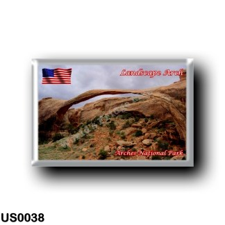 US0038 America - United States - National Park - Arches - Landscape Arch