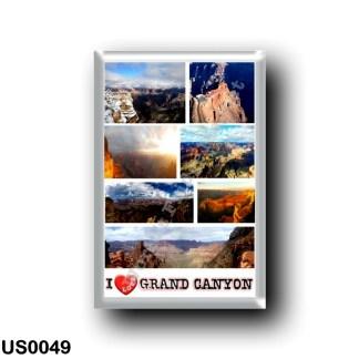 US0049 America - United States - National Park - Grand Canyon - I Love