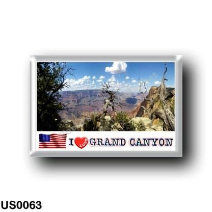 US0063 America - United States - National Park - Grand Canyon - I Love