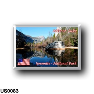 US0083 America - United States - National Park - Yosemite - Mirror Lake