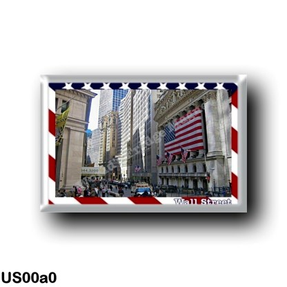 US00a0 America - United States - New York City - Wall Street