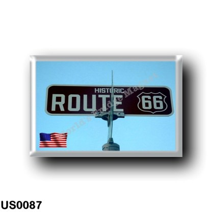 US0087 America - United States - Route 66 - Historic