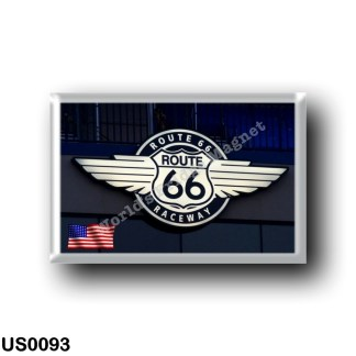 US0093 America - United States - Route 66 Raceway
