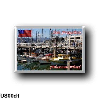 US00d1 America - United States - San Francisco - Fishermans Wharf
