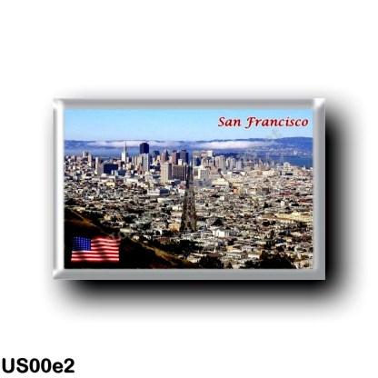 US00e2 America - United States - San Francisco - Market Street - Panorama