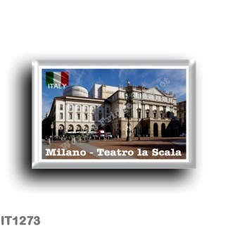 IT1273 Europe - Italy - Lombardy - Milan - La Scala theater