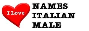I love names italian male