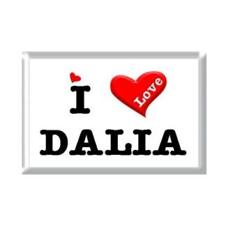 I Love DALIA rectangular refrigerator magnet