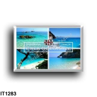 IT1283 Europe - Italy - Sardinia - Baunei - Cove Goloritzé - Panorama - National Park - National Arch