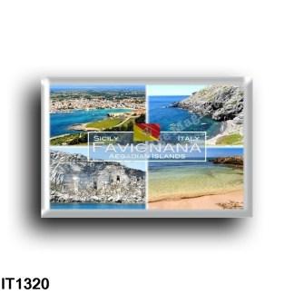 IT1320 Europa - Italia - Sicilia - Favignana island - Aegadian Islands - Red Cove - Black Cove - Beach - Bay