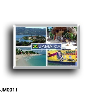 JM0011 America - Jamaica - Panorama Coast - Beach View - Sea View - Murales