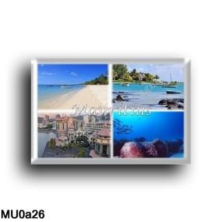 MU0a26 Africa - Mauritius - Beach - Cap Malheureux - Sea View