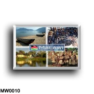 MW0010 Africa - Malawi - Lake Malawi - Crafts market in Lilongwe - Lilongwe house - WaYao ytibe