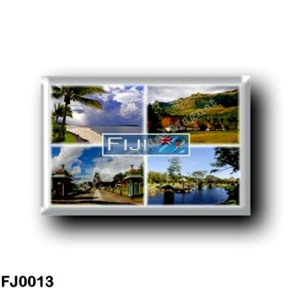 FJ0013 Oceania - Fiji - Denarau Island - Nava - Sri Siva Subramaniya - Nadi - Suva