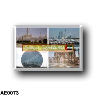 AE0073 Asia - United Arab Emirates Abu Dhabi - Aldar - Emirates Palace - Marina - Sheikh Zayed Mosque