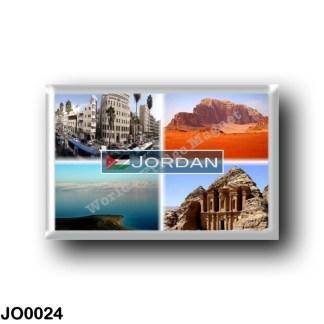 JO0024 Asia - Jordan - Downtown Amman - Dead Sea - The Monastery Petra - Wadi Rum's