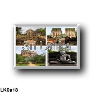 LK0a18 Asia - Sri Lanka - Sigirya - The Avukana Buddha Statue