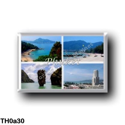 TH0a30 Asia - Thailand - Phuket Thailand - Sea View - Beach - Panorama
