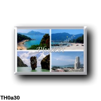 TH0a30 Asia - Thailand - Phuket Thailand - Sea View - Beach - Panorama