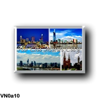 VN0a10 Asia - Vietnam - Ho Chi Minh City Saigon - City Centre - Bitexco Financial Tower - Quan - Notre Dame Cathedral Basilica o
