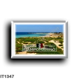IT1347 Europe - Italy - Puglia - Campomarino di Maruggio - Panorama - Taranto