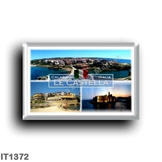 IT1372 Europe - Italy - Calabria - Le Castella - Aragonese Castle - Panorama - Crotone