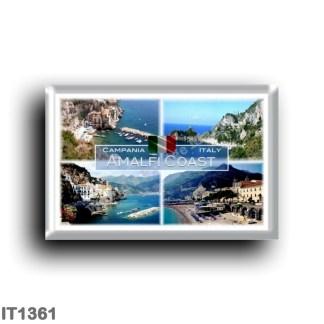 IT1361 Europe - Italy - Campania - Amalfi Coast - Amalfi Beach - Atrani - Marina di Conca