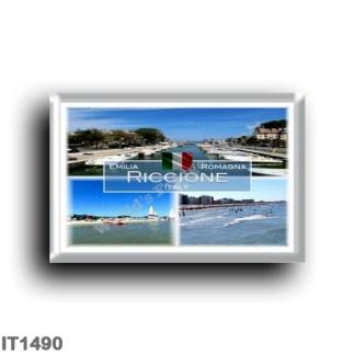 IT1490 Europe - Italy - Emilia Romagna - Riccione - Harbor - Beach - Sea View