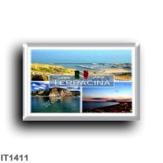IT1411 Europe - Italy - Lazio - Terracina - Monte Sant'Angelo - View Harbor - Port Harbor - Latina