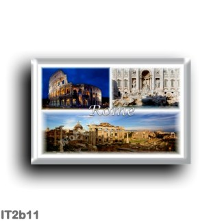 IT2b11 Europe - Italy - Lazio - Rome - Colosseum - Trevi Fountain - Roman Forum