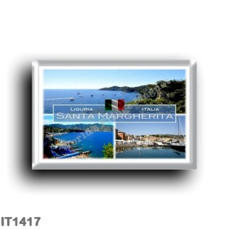 IT1417 Europe - Italy - Liguria - Santa Margherita Ligure - Harbor - Paraggi - Beach