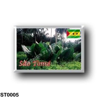 ST0005 Africa - São Tomé and Príncipe - Sao Tomè