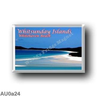 AU0a24 Oceania - Australia - Whitsunday Islands - Whitehaven Beach