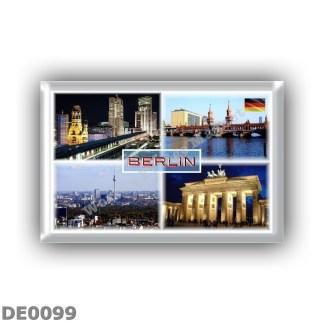 DE0099 - Europe - Germany - Berlin - Bikini Haus - Oberbaum - Skyline - Brandenburger Gate