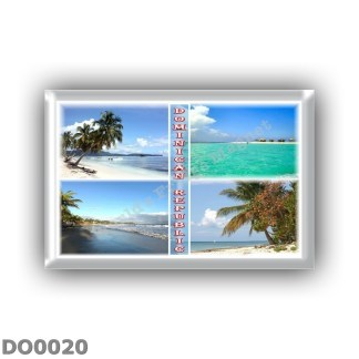 DO0020 0045 America - Dominican Republic - Beach - Sea View - Panorama